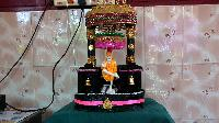SHRIDI SAIBABA TABLETOP FOUNTAIN WITH SAI BAJAN