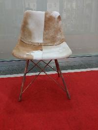 Hair On Leather Chair
