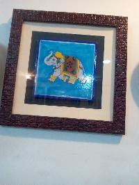 Blue Pottery Wall Painting