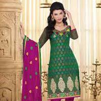 Unstitched Chanderi Cotton Suits