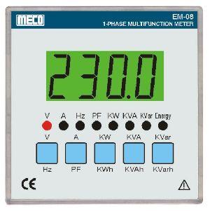 1 Phase Multifunction Meter