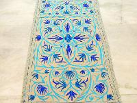 Handmade Embroidered Kashmiri Rugs