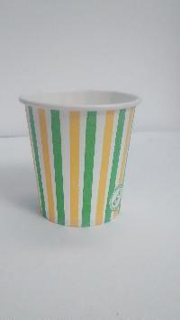 130 ml Printed Disposable Paper Cups