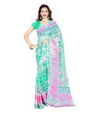 Casual Wear Multi  Printed Chiffon Saree_aakp12sr1043bksml
