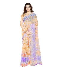 Casual Wear Multi  Printed Chiffon Saree_aakp22sr1043cksml