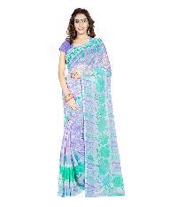 Casual Wear Multi  Printed Chiffon Saree_aakp32sr1043dksml