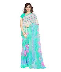 Casual Wear Multi  Printed Chiffon Saree_aakp62sr1044cksml