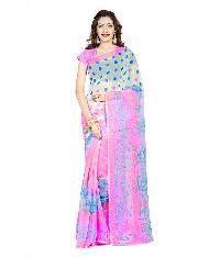Casual Wear Multi  Printed Chiffon Saree_aakp72sr1044dksml