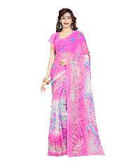 Casual Wear Pink  Printed Chiffon Saree_aakp82sr1045aksml