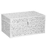 White Metal Box