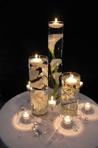 Floating Wedding Candles