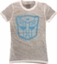 Stencil Distressed Baby Tee T-shirt