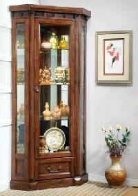 Wooden Corner Cabinet