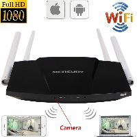 Spy Wi-Fi Camera In Internet Router
