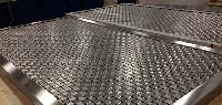 CLAMP CRIMPED WIRE MESH
