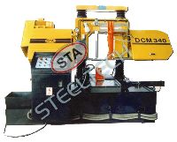 Double Column Heavy Duty Band Saw Machine