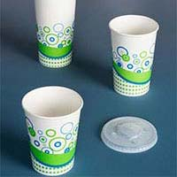 Disposable Water Paper Glasses