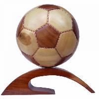 Wooden Handicraft Soccer Ball