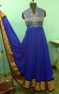 Long Floor Length Anarkali Suit