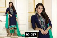 Shree Maa Fashion Blue Colour Fancy Designer Salwar Suit