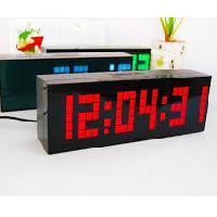 alarm led digital clock