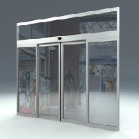 Auto Sliding Glass Door