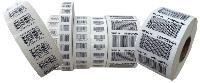 Printed Barcode Labels