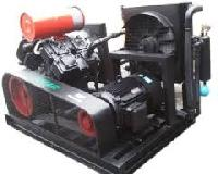 high pressure lubricated air compressor