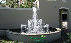 Three Stage Water Jet Fountains