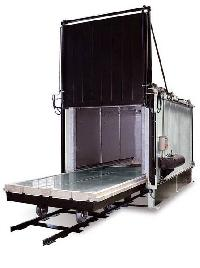vertical air circulation furnace