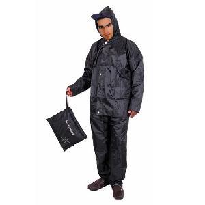 Black Colored Reversible Rain Suit