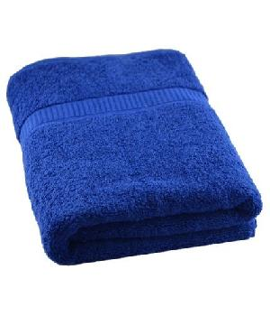 Blue Colored Bath Towel