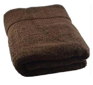 Brown Colored Bath Towel