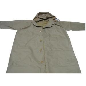 Grey Colored Mens Raincoat