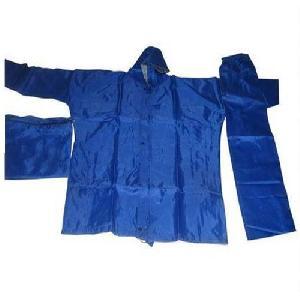 Light Blue Colored Reversible Rain Suit
