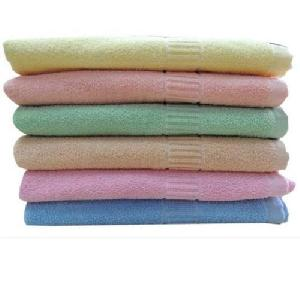 Multicolor Colored Bath Towel