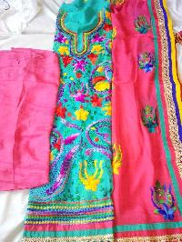Hand Work Embroidery Suits