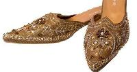 Mojaries And Beaded And Embroidered Footwear