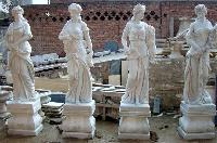 Marble Garden Fountain Statues