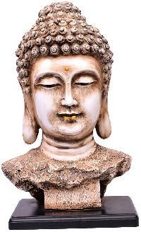 Handicraft Marble Dust Buddha Head Statue