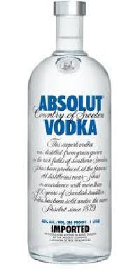 Absolut Pure Vodka 1 Litre
