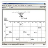 Time Table Management Software