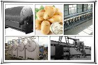 potato starch machinery