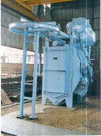 Spinner Hanger Shot Blasting Machine