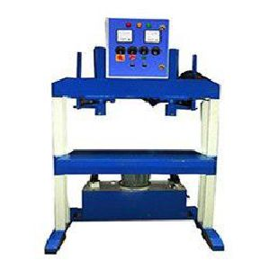 Hydraulic Double Die Double Cylinder Paper Plate Making Machine