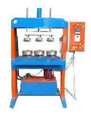 Hydraulic Triple Die Paper Plate Making Machine