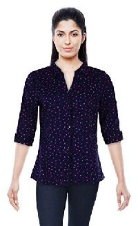 Womens Casual Shirt 3/4 sleevs