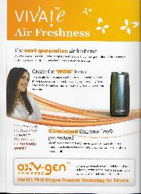 Viva E Air Freshener (oxygen Powered)