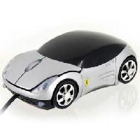 Ferrari Car Shape USB Optical Mouse