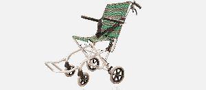 Folding Aluminum Wheelchair